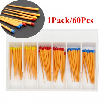 5Pack/300Pcs Dentsply Maillefer Protaper歯科ガッタパーチャポイントチップF1-F3